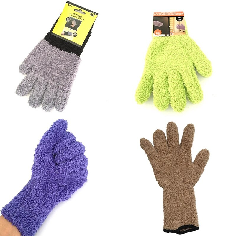 AliExpress - New Knitted Inner Scrub Gloves Super Soft Microfiber Car Detailing Wash Mitt For Car Care Leather Panel Vinyl and Fabric