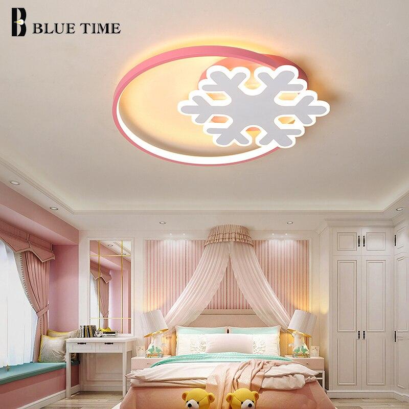 Led-deckenleuchte Für Schlafzimmer Wohnzimmer Esszimmer Kinder Mädchen Zimmer Lichter Innen Leuchten LED Decke Lampe Rosa