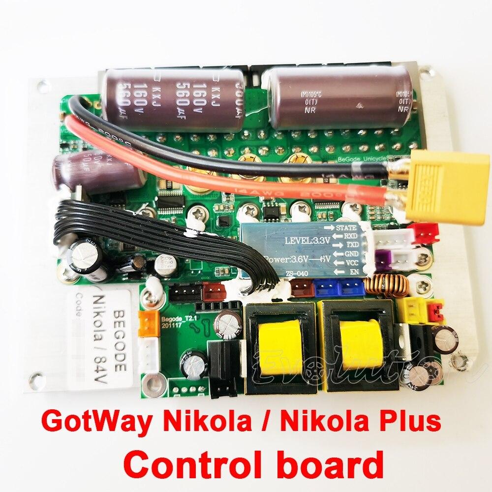 GotWay mother board Nikola plus control board 84V 100V Nikola 17 inch main board electric unicycle  replacement parts