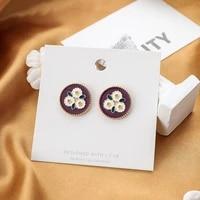 shamir south korea design women earrings stud earrings color restoring ancient ways girl put earrings jewelry gifts