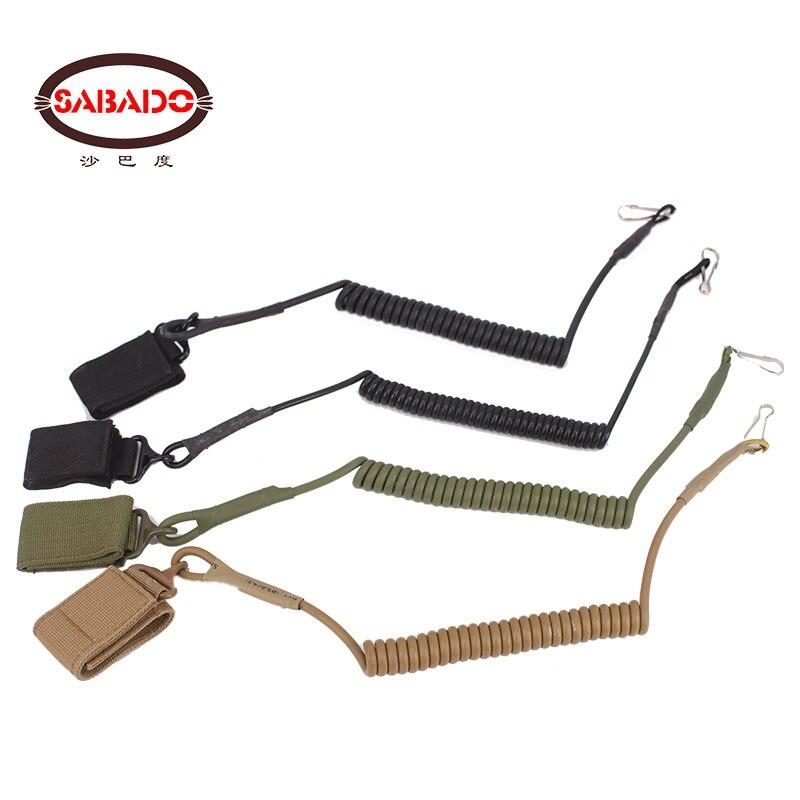 Armée extérieure tactique CS tir fusil chasse militaire Camouflage fronde pistolet Portable accessoires sangle système