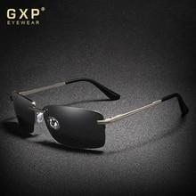GXP 2020 Rectangle Sunglasses Men Travel Polarized Rimless Sun glasses UV400 Male Fishing Eyewear Oc