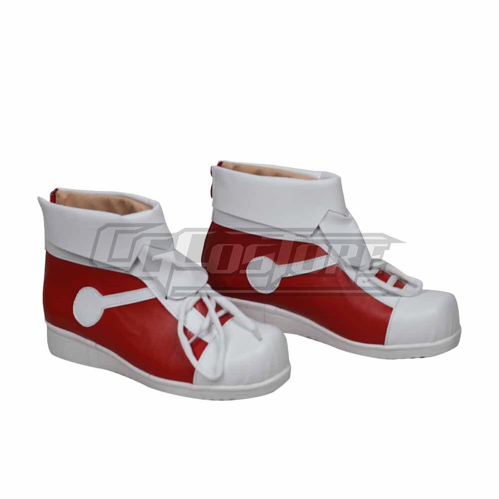 Funda de zapatos de Anime para Cosplay Edogawa Conan, disfraz de chico fresco hecho a mano de cuero para Navidad, envío gratis PH891