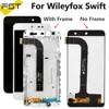 5.0 ''ل Wileyfox سويفت شاشة الكريستال السائل مع مجموعة المحولات الرقمية لشاشة تعمل بلمس مع الإطار ل Wileyfox سويفت الهاتف استبدال أجزاء أدوات