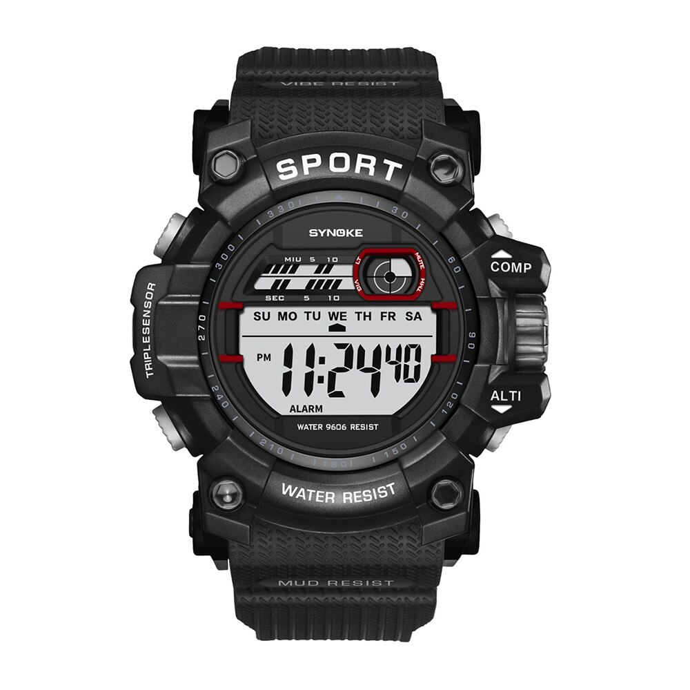 Fashion Sports Watches Men Multi-Function Digital LED Watch Big Case Military Clock Male Relogio Masculino reloj dijital #H0