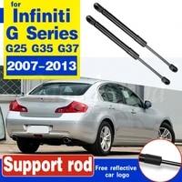 2pcs trunk rear tailgate boot gas struts lift support for infiniti g25 g35 g37 2007 2013 boot struts support hydraulic rod strut
