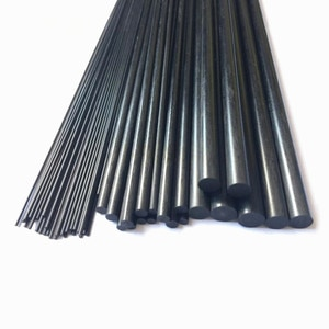 Carbon Fiber Rods For RC Airplane Matte Pole 1mm To 12mm Diameter/length 500mm