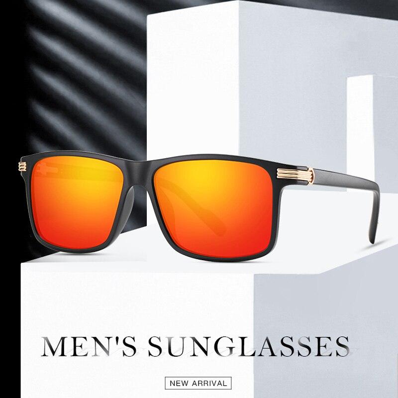 AOZE2020 gafas de sol polarizadas cuadradas de lujo para hombre, gafas de...