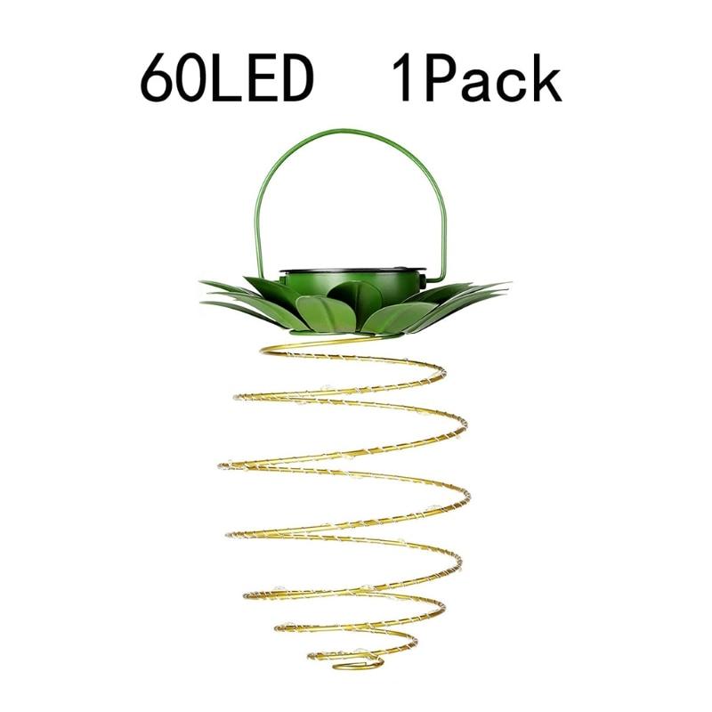 Solar Hanging Light Outdoor Garden Decorative Landscape Lantern LEDs String Lamp
