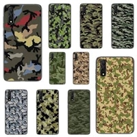 fashion fundas camouflage color phone case for honor 7apro 8 9 10 20 8c 7c x lite play pro hrt lxit ru cover fundas coque