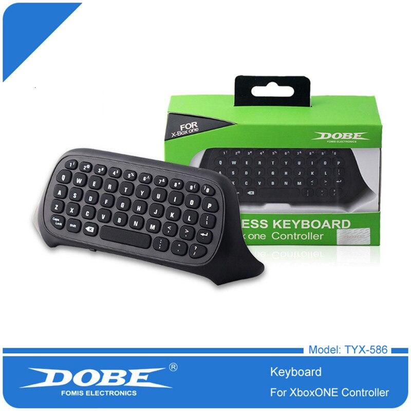 Inalámbrico bluetooth juego de mensajería teclado de texto para Microsoft Xbox one xboxone controlador videojuegos juegos