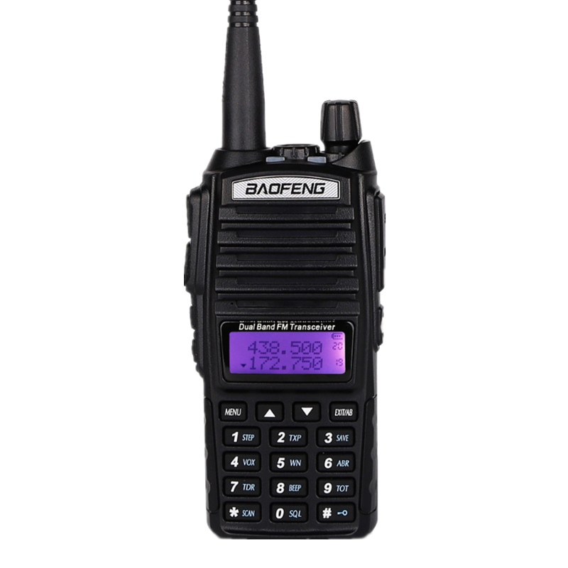 Baofeng UV-82 Walkie Talkie UHF VHF CB Radio Station 128CH Two Way Radio UV82 Upgraded UV 5RE Portable Ham Radio for Hunting enlarge