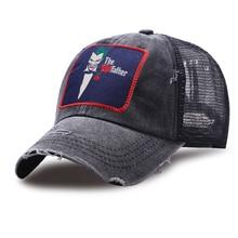 Le père Joker drôle casquette de Golf coton décontracté camionneur chapeaux nouvel été respirant maille casquettes de Baseball en plein air unisexe chapeau de relance