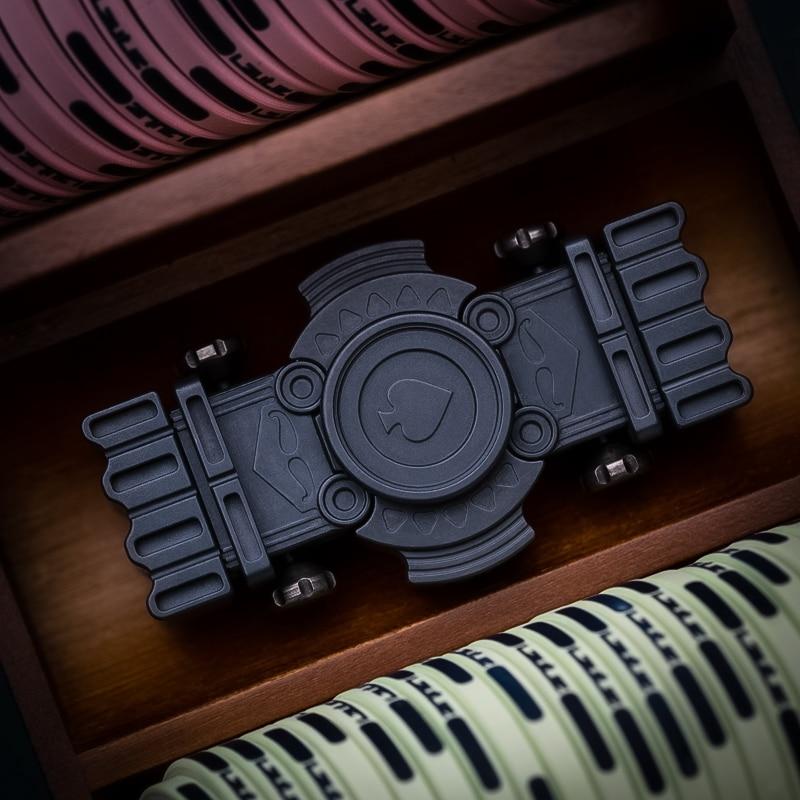 Original Fingertip Gyro Mini Old K Gyro Slider Combination Multifunctional Pressure Reduction Toy EDC enlarge