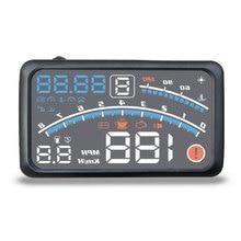 HUD Car Head-Up Display Car-styling Hud Display Overspeed Warning Windshield Projector Alarm System Universal Auto