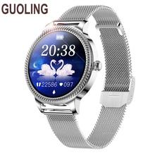 GUOLING 2021 New Smart Watch Women Men Heart Rate Blood Pressure Sport Multi-function Watch fitness