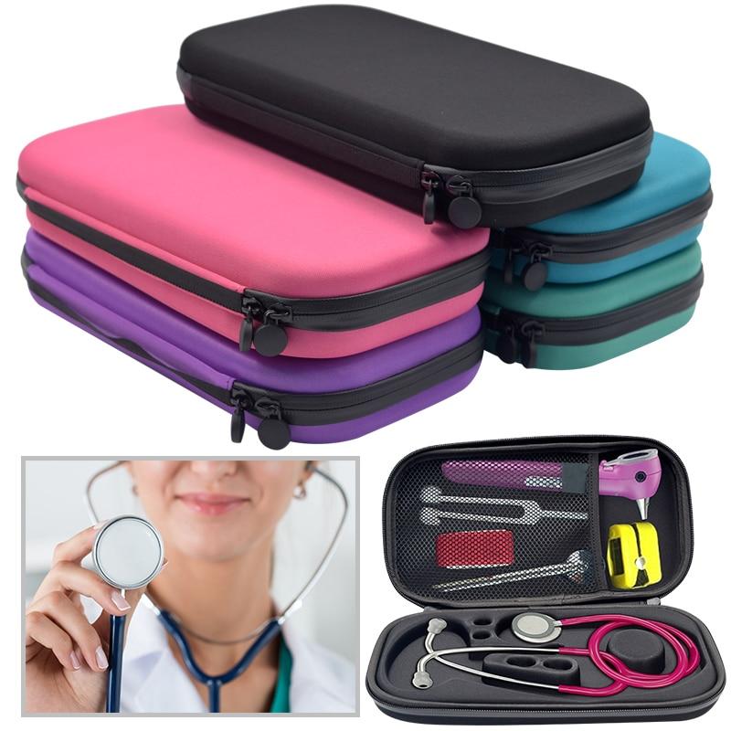 EastVita Portable Stethoscope Storage Box Carry Travel Case Bag Hard Drive Pen Medical Organizer r30