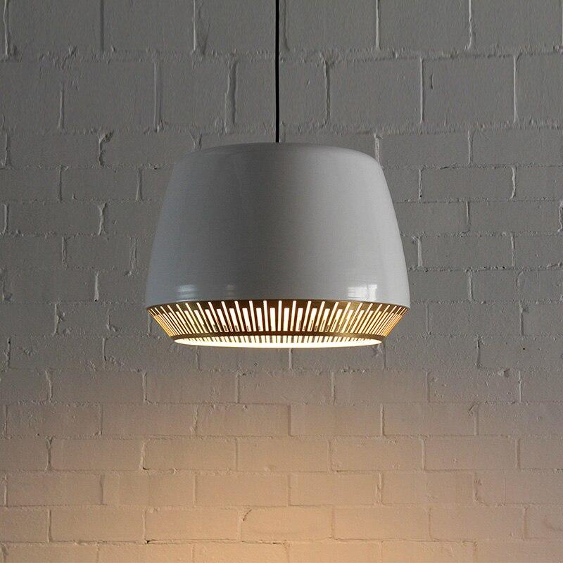 مصباح معلق من الحديد بتصميم إسكندنافي حديث ، إضاءة زخرفية داخلية ، مثالي للدور العلوي ، غرفة الطعام ، غرفة النوم ، البار ، E27