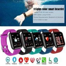 116plus Smart Bracelet Waterproof Fitness Tracker Sports Watch Heart Rate Monitor Pedometer Smart Band Offline Payment Women Men
