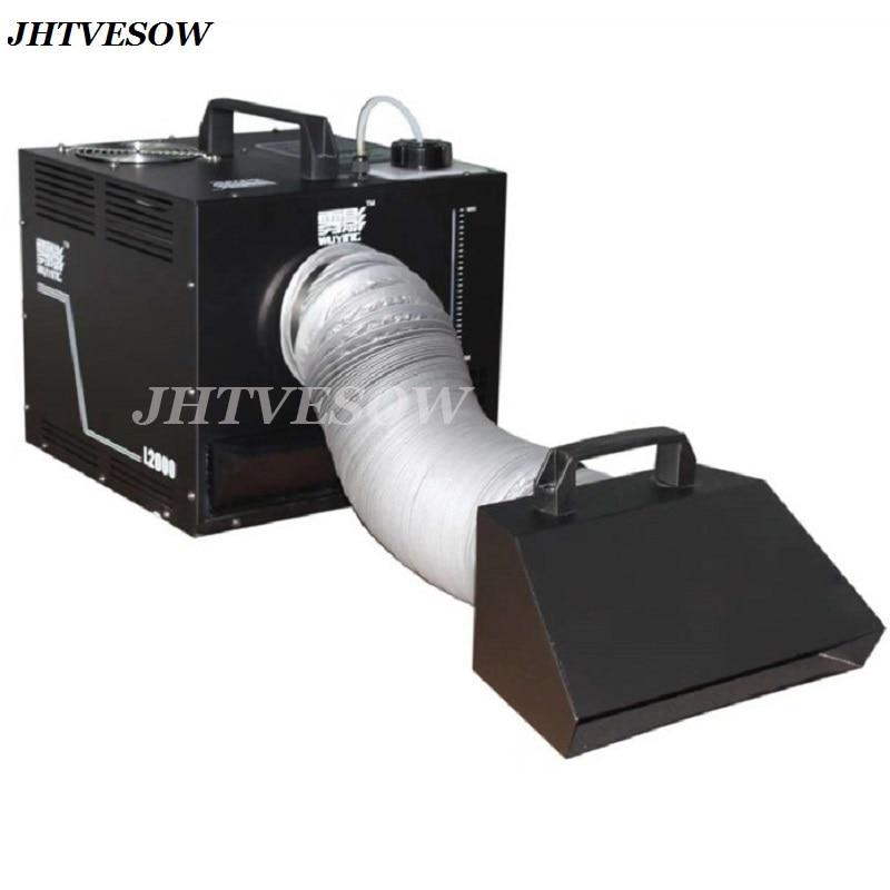 3000 واط آلة الضباب المياه منخفضة الكذب آلة لصنع الدخان 3000 واط التحكم عن بعد مع علبة الطيران