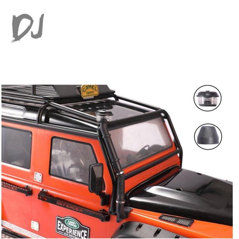 DJ TRAXXAS TRX4 Сменная головка для проращивания горла, высокий воздухозаборник, пылесборник TRAXXAS Defender, обновленные аксессуары, радиоуправляемые ...