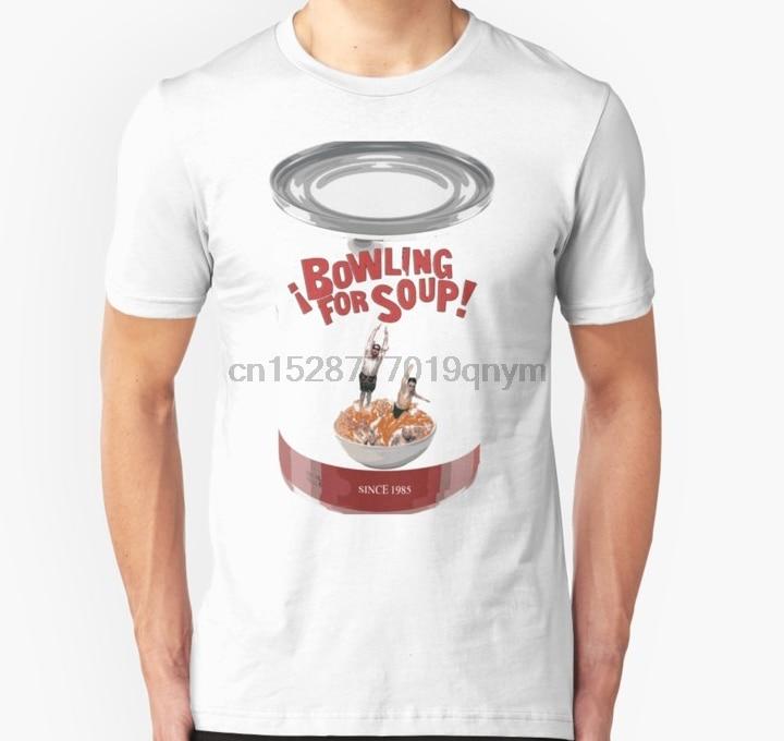 Men tshirt  Bowling for Soup Can Unisex T Shirt Printed T-Shirt tees top