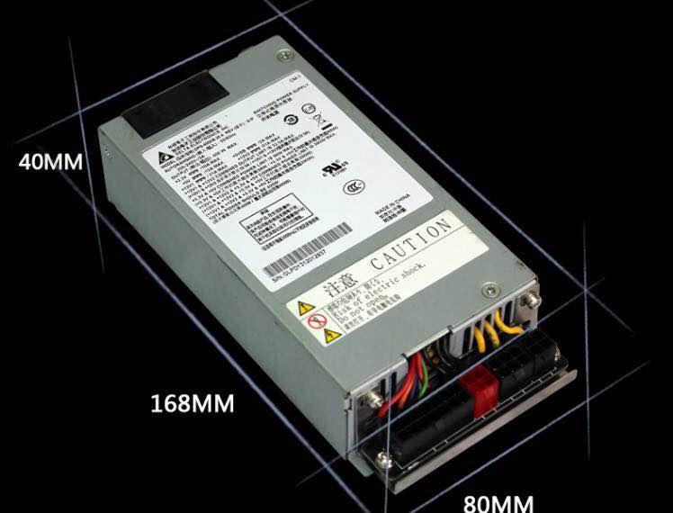 New PSU For SpeedCruiser ATX 12V S3 K39 K35 M41 M24 Supporting GPU FLEX NAS Small 1U Rated 400W Power Supply