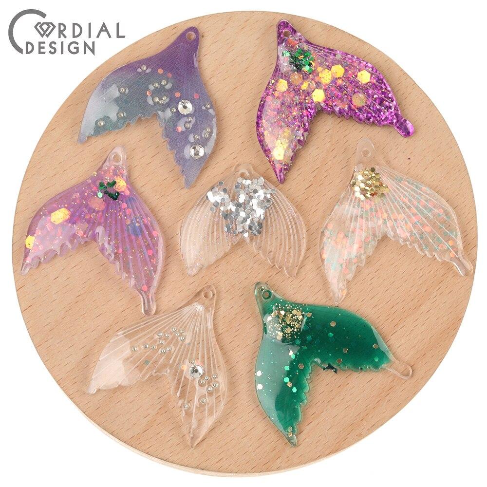 Diseño Cordial 30*35MM 100 Uds accesorios de joyería/fabricación DIY/forma de hoja/colgante/hallazgos de pendientes/hecho a mano/encantos de ácido acético