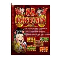 pcb fortune 88 good quality arcade game multi game board arcade machine