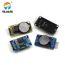 1PCS DS1302 DS3231 IIC Echtzeit Uhr Speicher Modul CR2032 Mini Präzision Timer Mit Batterie Für Arduino Lange- wirkenden Einheit