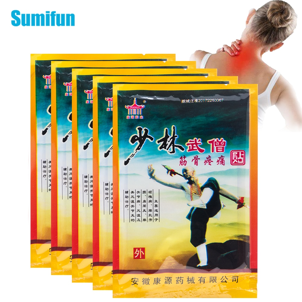 40pcs Chinese Traditional Medicine Pain Relief Patch Rheumatoid Arthritis Muscle Knee Joint Ache Treatment Plaster Health Care