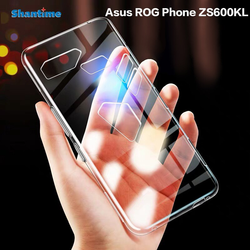 Funda para teléfono Asus ROG ZS600KL, Funda de TPU suave transparente ultrafina, Funda para teléfono Asus ROG
