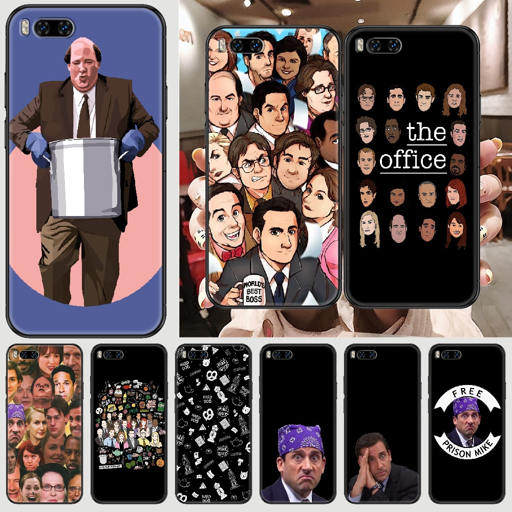 TV The Office Phone case For Xiaomi Mi Max Note 3 A2 A3 8 9 9T 10 Lite Pro Ultra black luxury back s