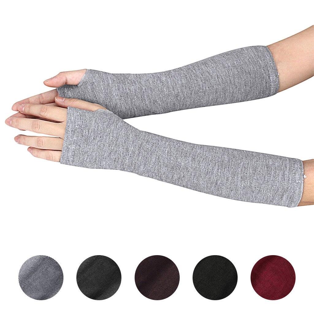 1 par suave y elástico muñeca brazo calentador de la mano de...