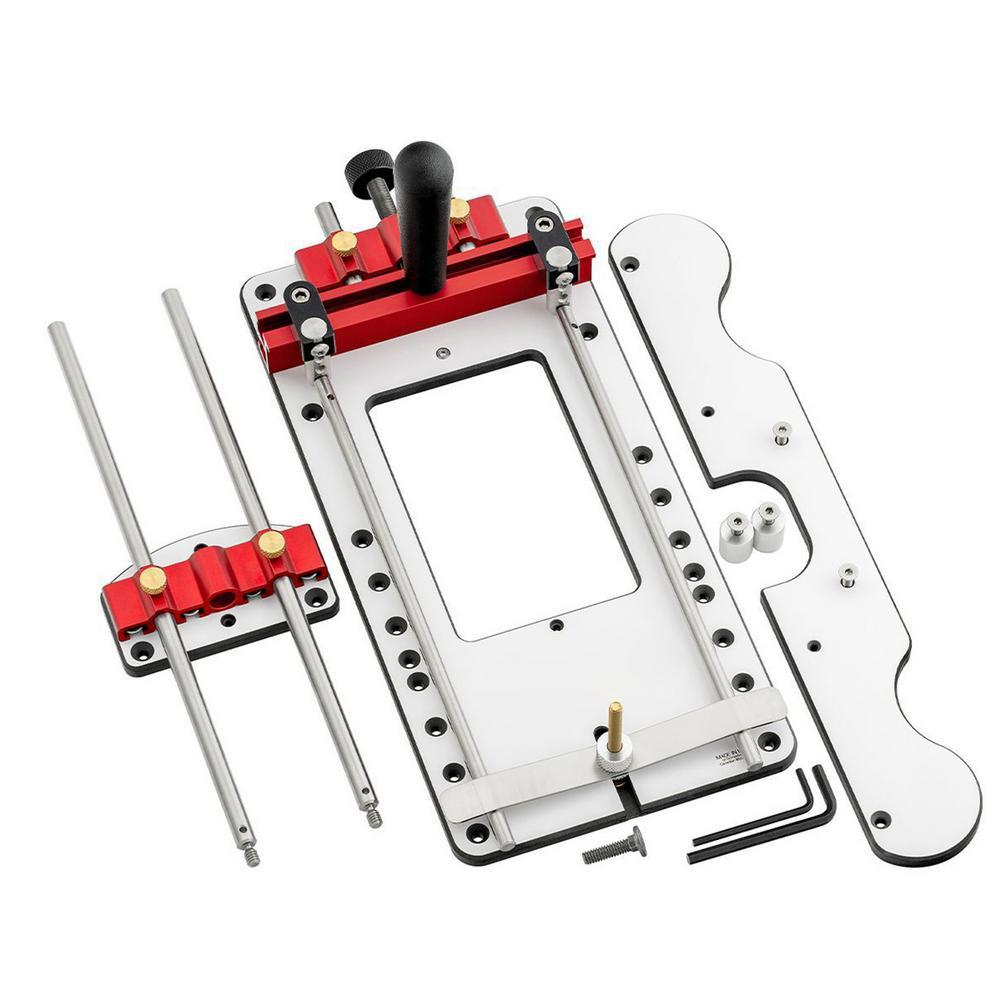 آلة الحفر محدد قابل للتعديل النجارة المعونة أداة الحفر ثقب محدد النجارة ثقب دليل الناخس