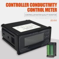 EC-510 EC Controller Conductivity Control Meter Tester Controller Water Quality Monitor Checker Detector 0-20/200/200us/cm