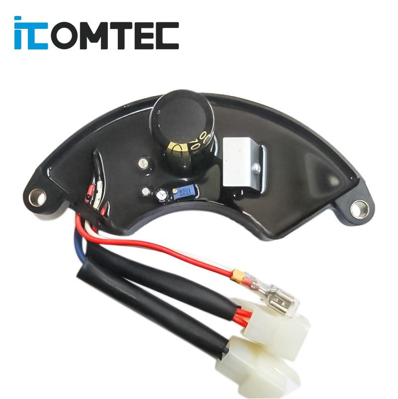 TT18 7KW AVR LIHUA AVR منظم جهد كهربائي أوتوماتيكي ثلاث مراحل مولد بنزين
