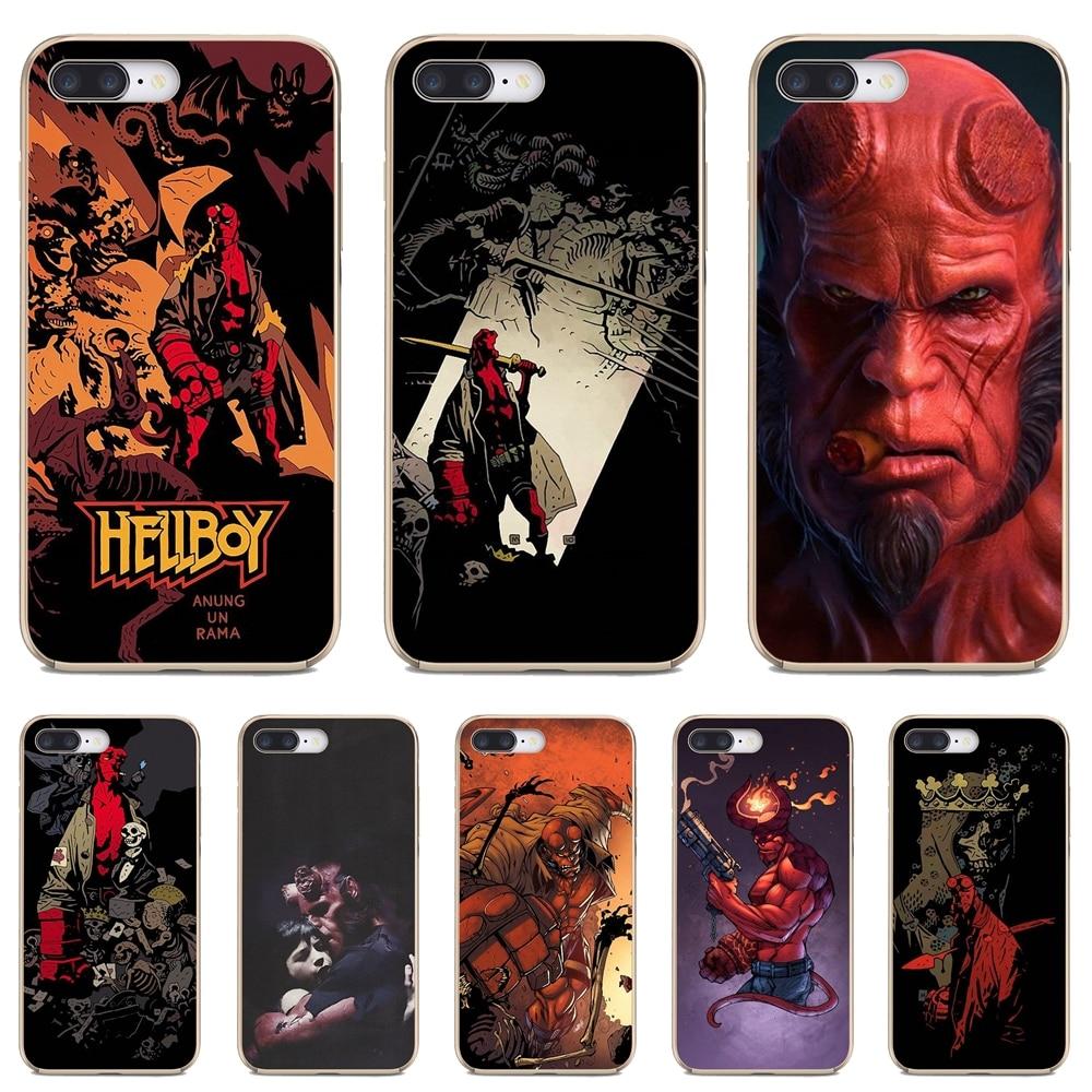 For Huawei P30 P40 P20 P7 P8 P9 P10 Lite Plus Pro 2015 2016 2017 Mini Hellboy-Hell-Boy-Comic-Charact