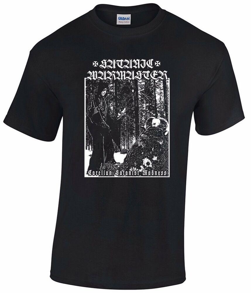 Satánica WARMASTER camiseta Carelian satánico locura goatmoon ad hominem tsjuder