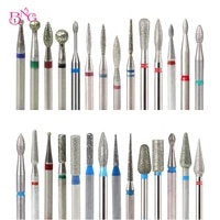 bng milling cutters for manicure pedicure nail drill bit foot cuticle clean burr tools nail file grinding head accessories