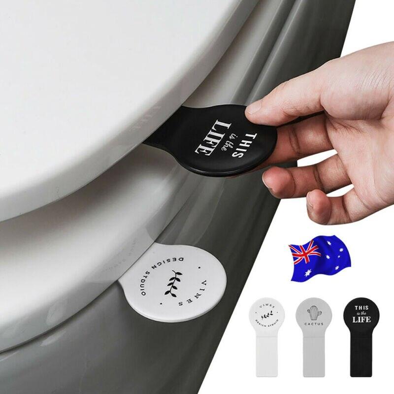 Manija de elevación de la cubierta herramientas de baño tapa del inodoro dispositivo tapa del asiento del inodoro levantador AU