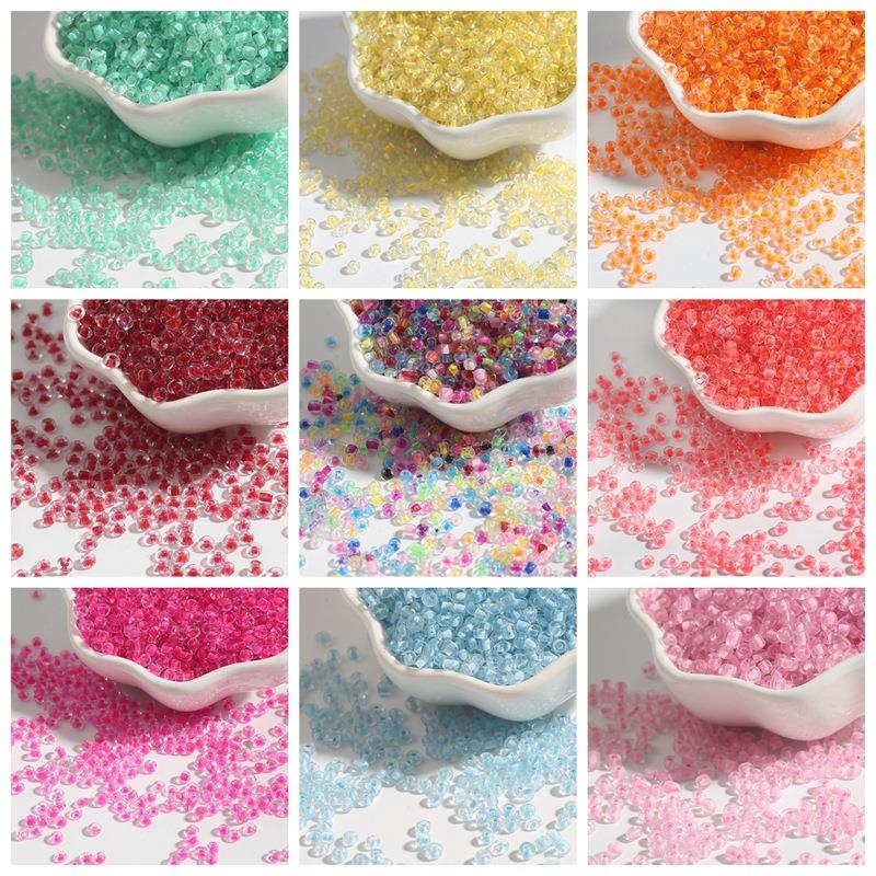 2/3/4mm Mix Color Czech Crystal Glass Seed Beads Loose Spacer Beads For Kids DIY Jewelry Making Accessories Small And Exquisite