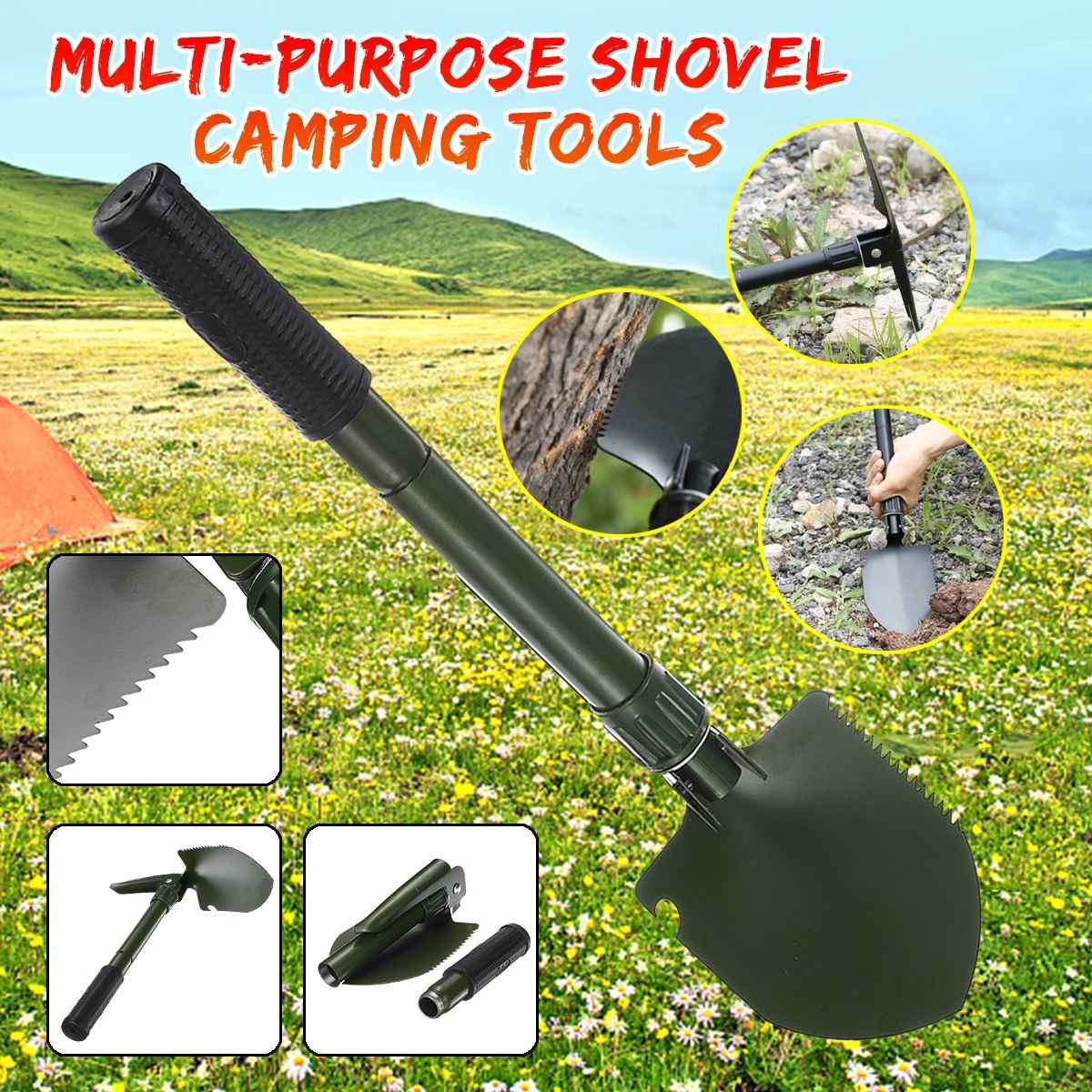 2020 новая многоцелевая наружная Лопата садовые инструменты складная Военная Лопата для кемпинга защитные средства безопасности