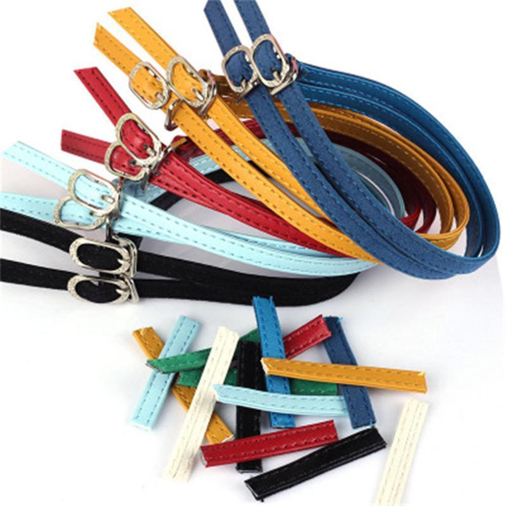 Bundle Shoelace For High Heel Anti-skid Shoes Women Solid Color Shoe Belt Ankle Shoe Tie DIY Handmade Shoes Belts