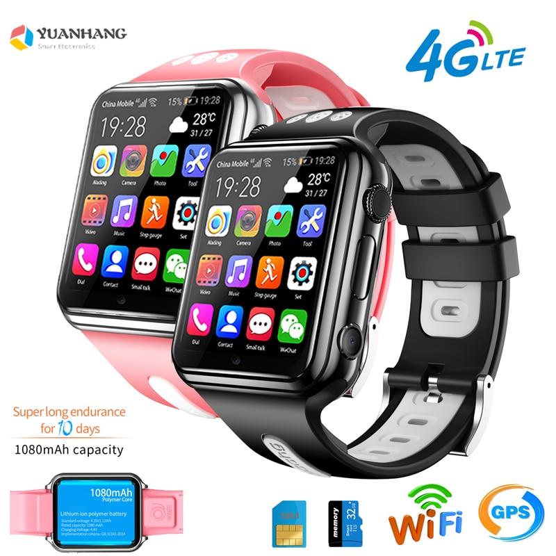 Android 9.0 Smart 4G zdalna kamera GPS WI-FI Trace zlokalizuj dzieci Student Google Play Smartwatch Bluetooth Voice Call Phone Watch