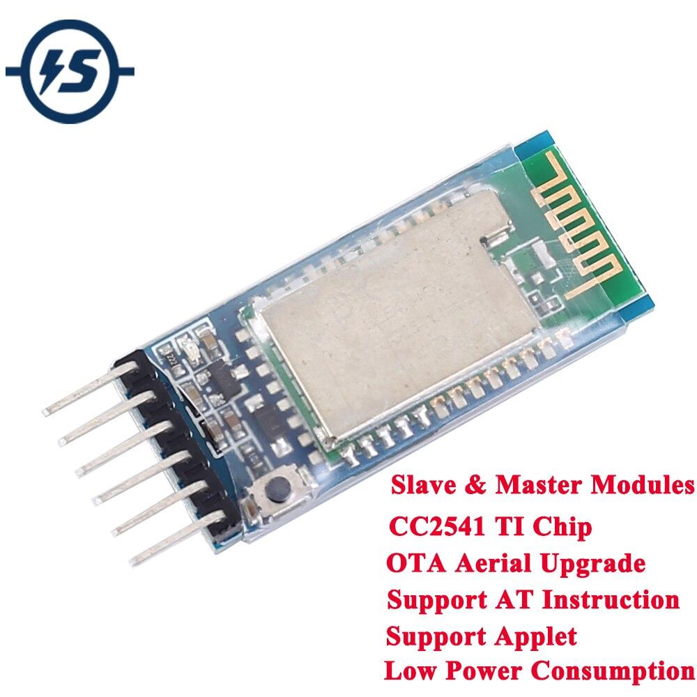 Módulo Transmisor RF inalámbrico Bluetooth maestro GFSK CC2541 BLE4.0 UART CC 3,3 V 2,4 GHz ismo bajo consumo de energía
