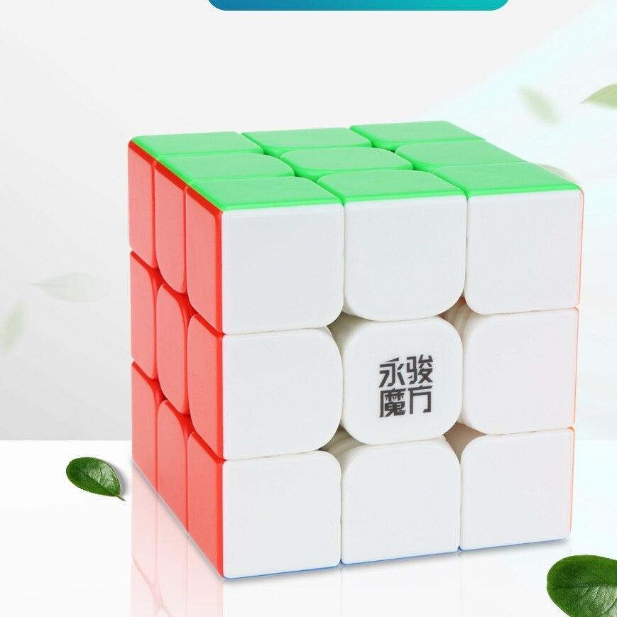 yj yulong 2 m v2 m 3x3x3 cubos magicos magneticos imas yongjun quebra cabeca cubos