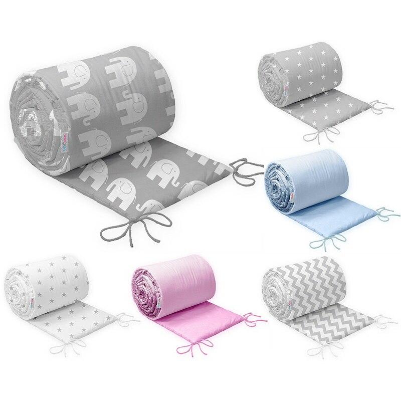 130 см * 30 скандинавские звезды дизайн детская кровать утолщаются бамперы цельная