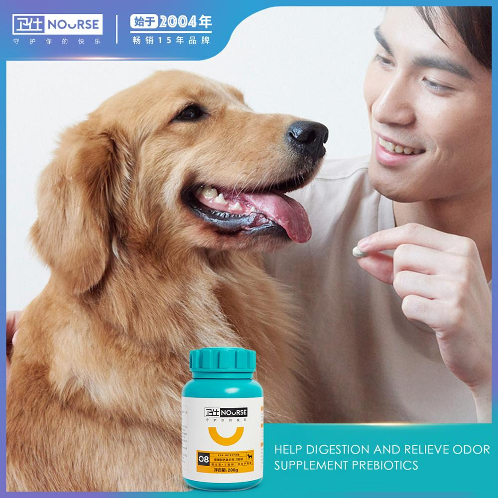 Nourse 400 tablets of dog probiotics to regulate gastrointestinal puppies pet Teddy universal gastrointestinal health products nours joint shu 160 tablets of dog dog joint health teddy joint health kang chondroitin pet joint bone health products for dogs