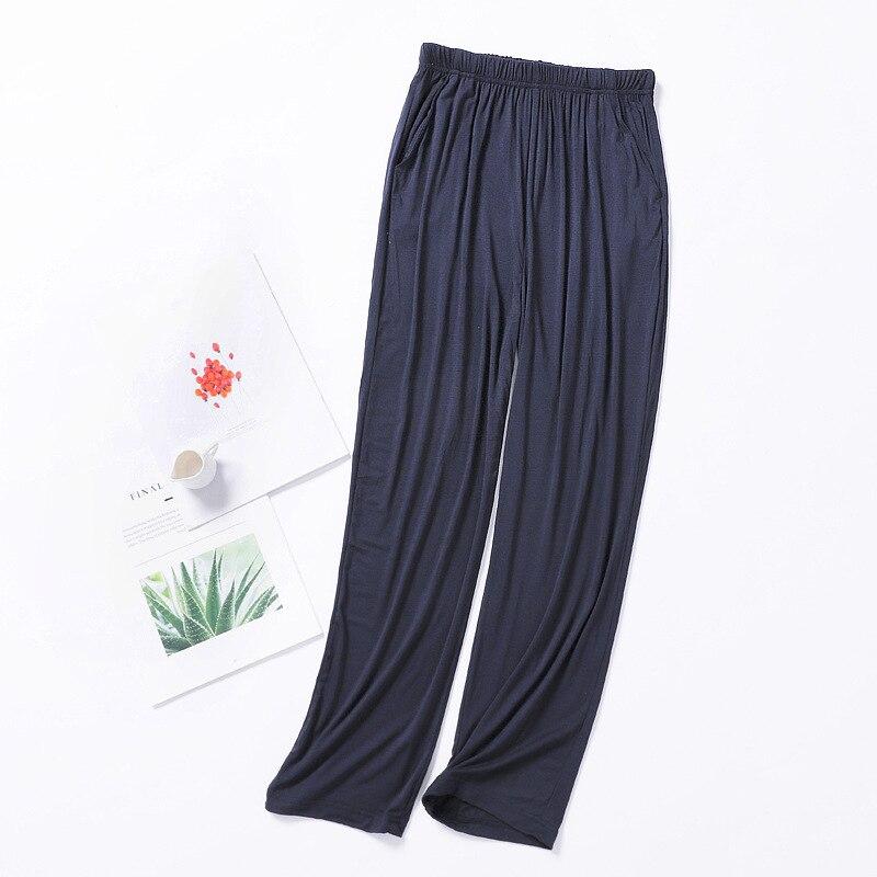 Новые мужские% 27 модальные +брюки тонкие секции весна и лето домашние брюки мужские% 27 плюс размер домашние брюки повседневные брюки пижама брюки